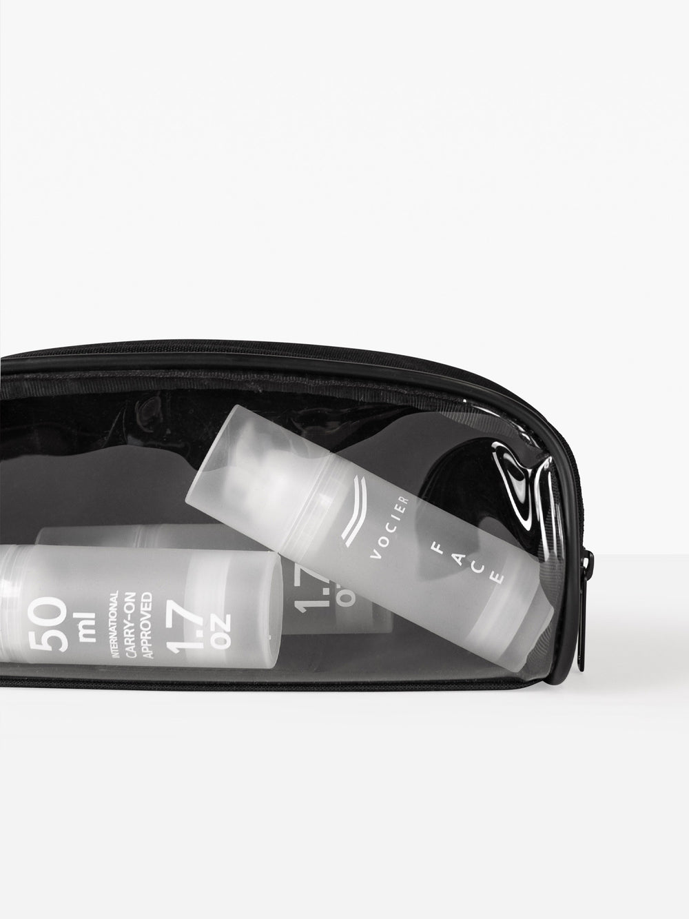 legacy dopp kit with clear window