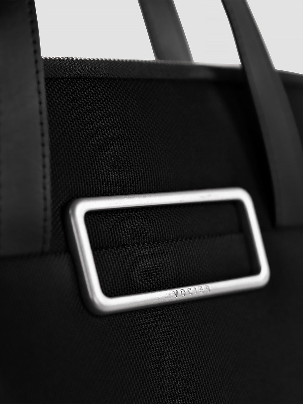 avant briefcase for women leather details