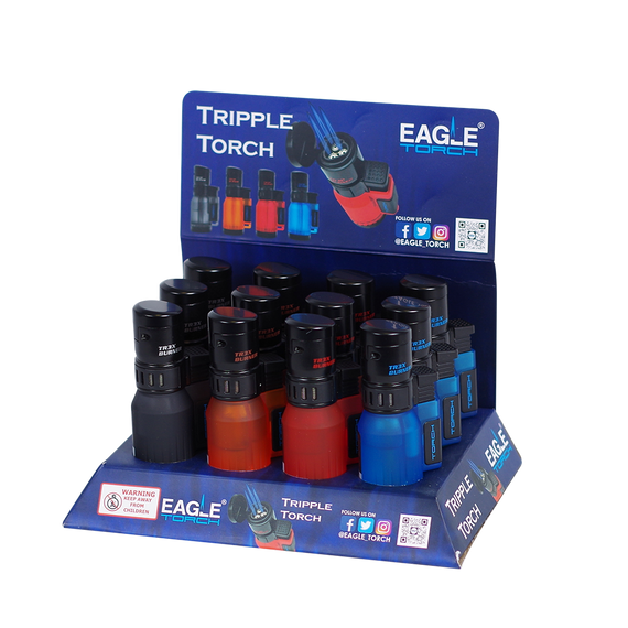 Eagle Brand Triple Torch (12 Count Display)