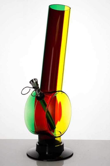 "12"" acrylic rasta water pipe"