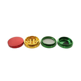 Rasta Aluminum Premium Heavy Grinder   – 3 STAGE – 60MM (1 Count)