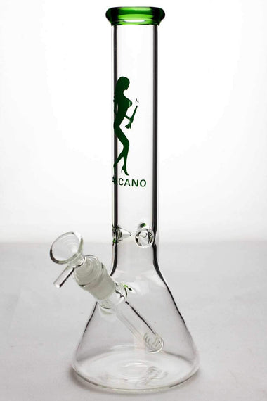 "11.5"" Valcano beaker glass water bong"