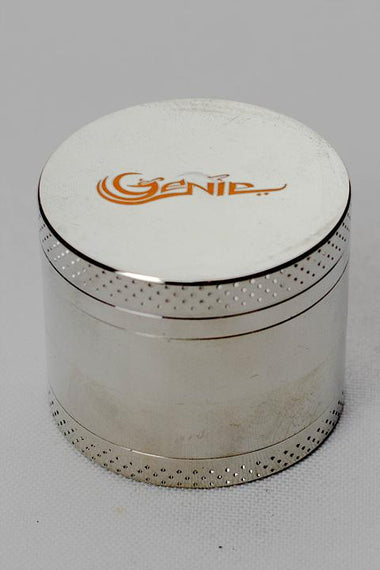 4 parts genie metal herb mini grinder