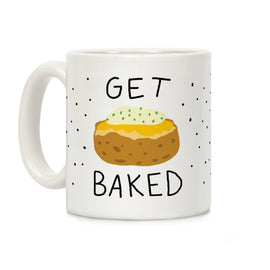 Get Baked Ceramic Coffee Mug by LookHUMAN