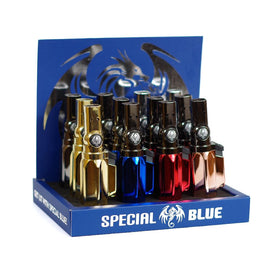 Special Blue Lighter The Laser Lighter Assorted Colors (12 Count) Display