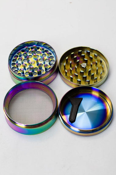 Infyniti 4 parts rainbow herb grinder