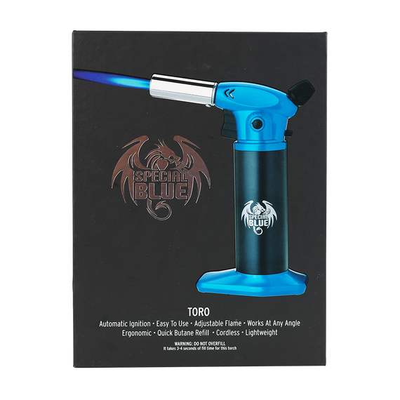 "Special Blue ""TORO"" Flame Torch 1ct (Various Colors)"
