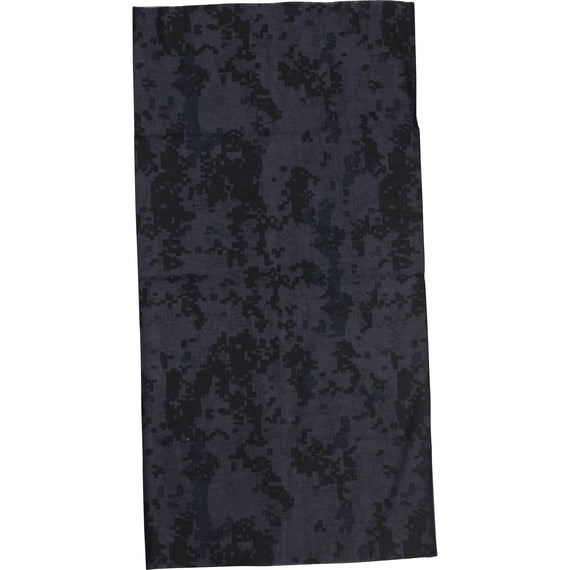 FULL NECK GAITER Face Mask - BLACK CAMO