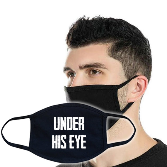 3ply Cotton Face Mask - Under His Eye