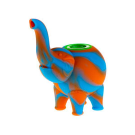 Silicone Mini Elephant - Colors May Vary -  (1 Count)