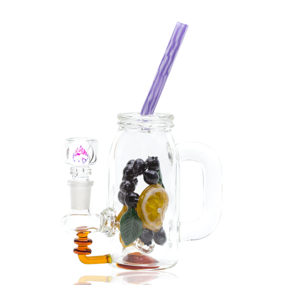 Empire Glassworks Blueberry Orange Detox Rig