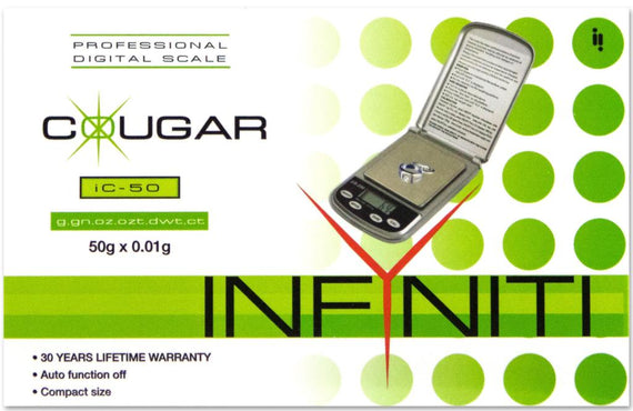 Infyiniti IC50 Cougar Scale 50G X 0.01G
