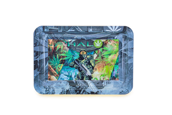 Metal Rolling Tray - Soldier (Small)