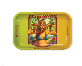 Raw Brazil 2 Small Rolling Tray - (1 Count)