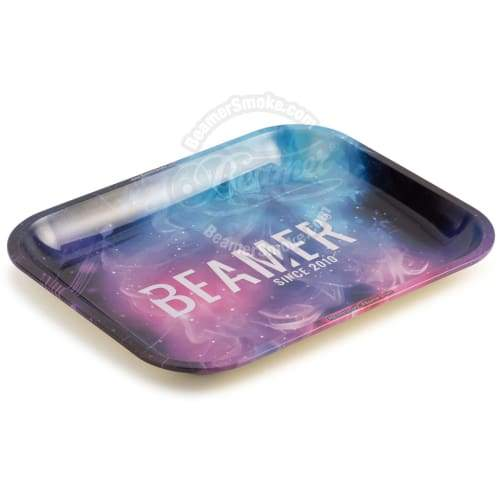 Beamer Large Metal Tray-outer Space