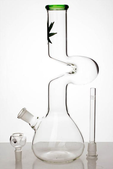 "12"" kink zong glass pipe"