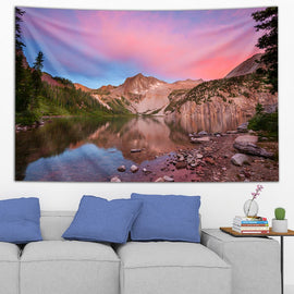 Sunrise at Snowmass Lake Tapestry