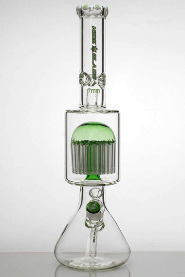 "20 "" nice glass 48-arms percolator 7 mm glass water bong"