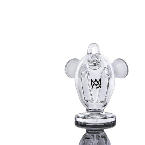 MJ Arsenal The Dubbler Original Double Blunt Bubbler - Glass (1 Count)