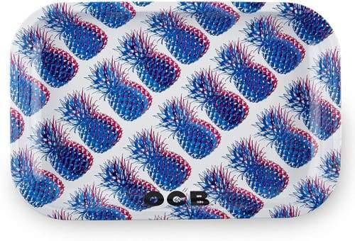 OCB Rolling Tray - Pineapple Series (Small, Medium or Large) (1 Count)
