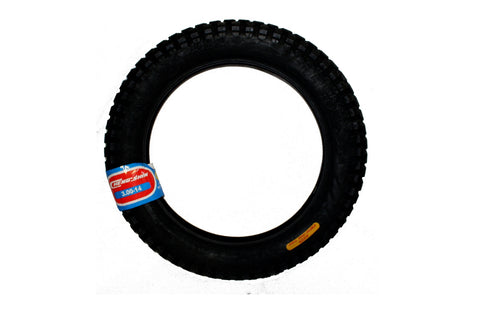 Tire - 14'' x 3.0'' mc trials rear. For 20.0R, Upgrade (with comp. wheel) on 20.0 48v (2012/13), 20.0L & 20.0E
