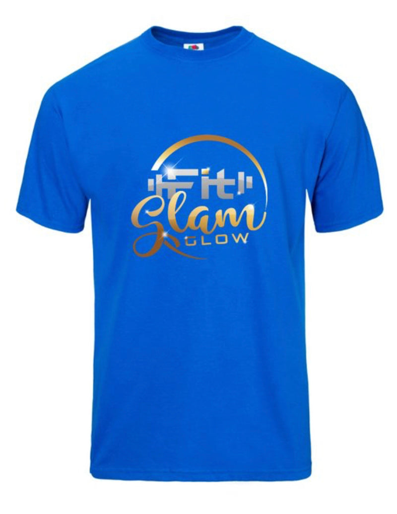 Short Sleeve T-Shirt - Fit Glam Glow
