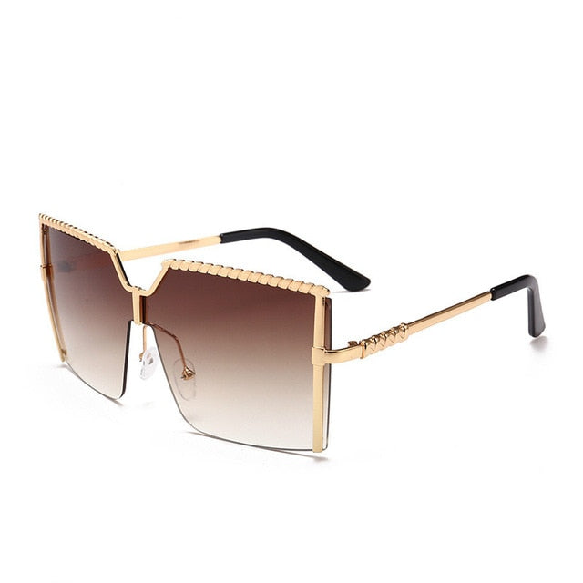 Square Sunglasses - Fit Glam Glow