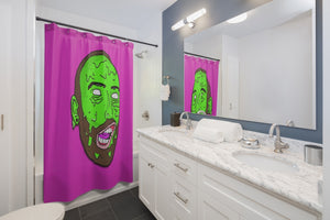 BS-Grime Shower Curtains
