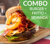 COMBO BBQ BACON BURGER