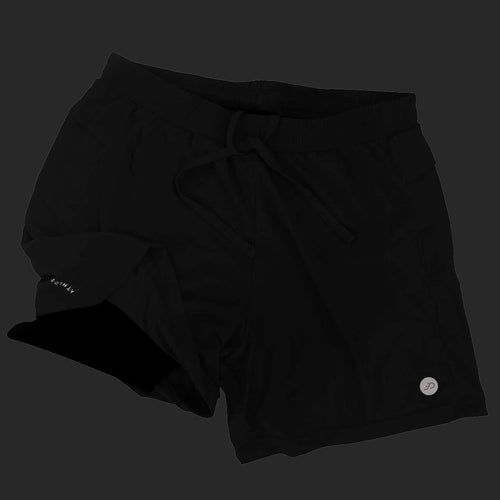 Athlos Mens Distance Shorts Black
