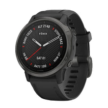Load image into Gallery viewer, Garmin Smart Watch Fenix 6S Carbon Gray DLC