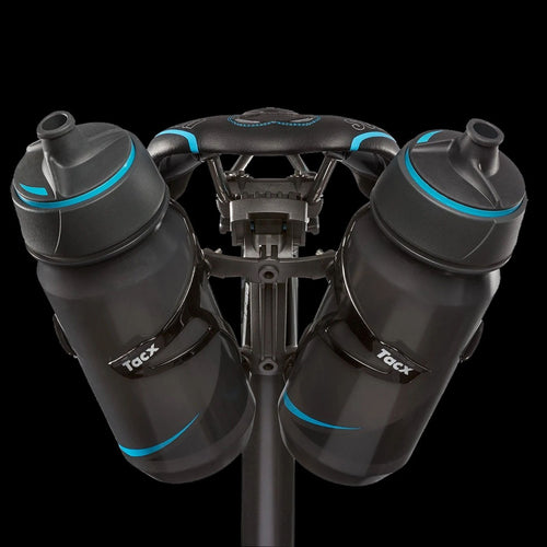 Tacx Aero Dual Bottle Cage Mount Carbon black