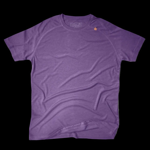 Athlos Mens Distance Running Tee- Acai
