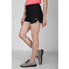 Load image into Gallery viewer, Athlos Womens Distance Shorts Pepper Black