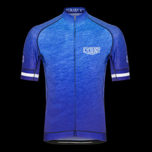 Cycology Incognito (Blue) Men's Jersey - Best Cycling Jersey In India