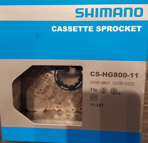 Shimano cassette sprocket CS-HG800 11speed 11-34T