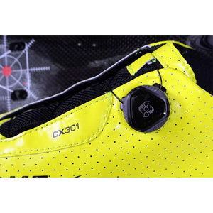 Lake CX301 Fluo Yellow Wide Carbon Sole Cycling Shoes
