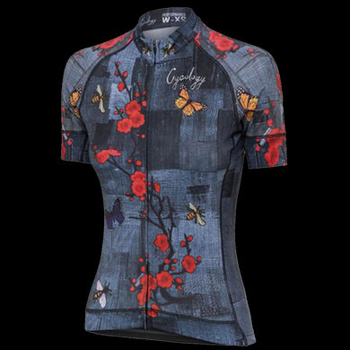 CYCOLOGY L'AMOUR WOMEN'S CYCLING JERSEY-BLUE
