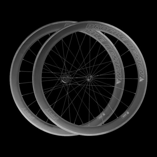 Profile Design 1/Fifty Clincher Wheelset- Full Carbon