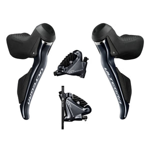 Shimano Ultegra Di2 Dual Control Lever Hydraulic Disc Brake ST-R8070 with Brake Caliper BR-R8070
