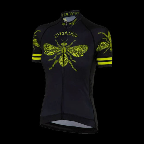 Cycology Queen Bee Women's Jersey - Best Cycling Jersey In India