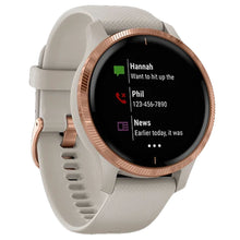 Load image into Gallery viewer, Garmin Smart Watch Venu Light Sand/R Gold