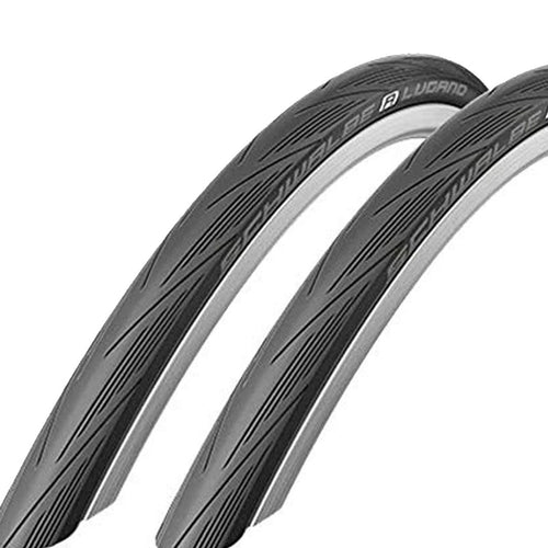 Schwalbe Lugano Foldable Road Bike Tyre 25-622 (700X25C)