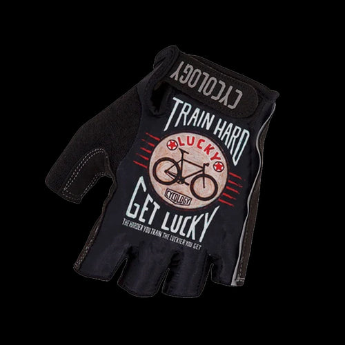 Cycology Train Hard Get Lucky Cycling Gloves