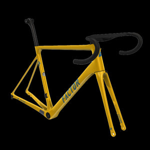 Factor O2 Disc (Only Frame + Fork) - Colour Tuscan yellow