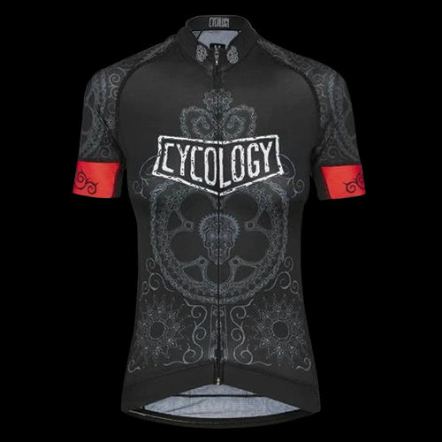 Cycology Day Of The Living (Black) Women's Jersey
