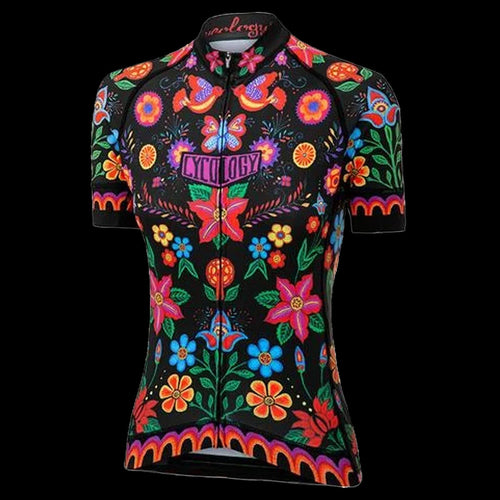 Cycology Frida (Black) Women's Jersey- Best Cycling Jersey In India