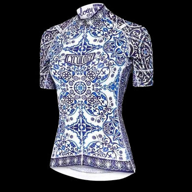 Cycology Majolica Women's Jersey- Best Cycling Jersey In India