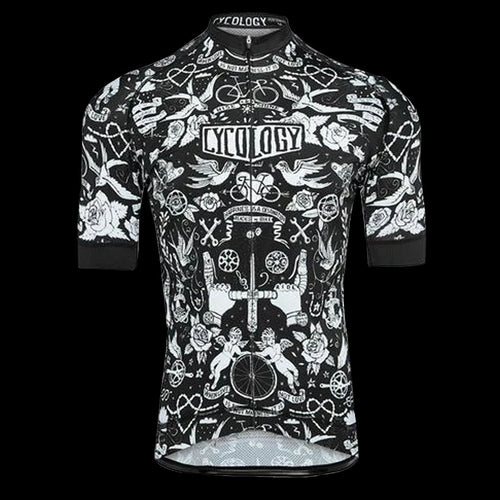 Cycology Velo Tattoo Men's Jersey- Best Cycling Jersey In India