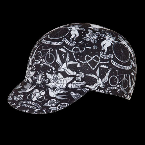 Cycology Velo Tattoo Cycling Cap